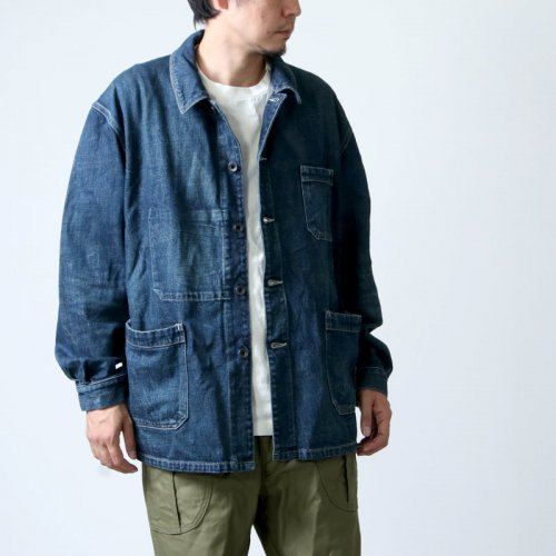 Ordinary Fits (オーディナリーフィッツ) Re:ORDINARY  DENIM WORK JACKET 1year / リ オーディナリー デニムワークジャケット
