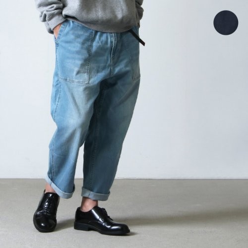 GRAMICCI (グラミチ) DENIM LOOSE TAPERED PANTS / デニムルーズテーパードパンツ