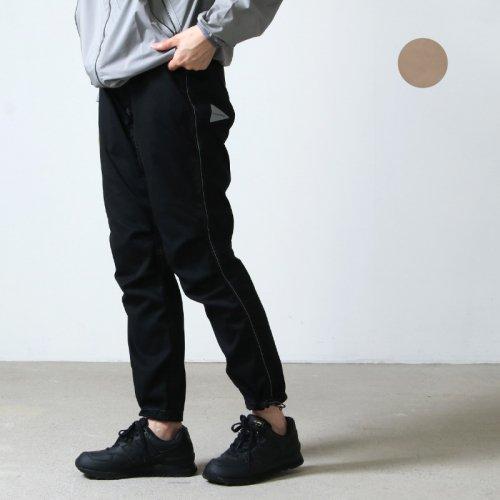 and wander (アンドワンダー) polyester climbing pants / ポリエステルクライミングパンツ