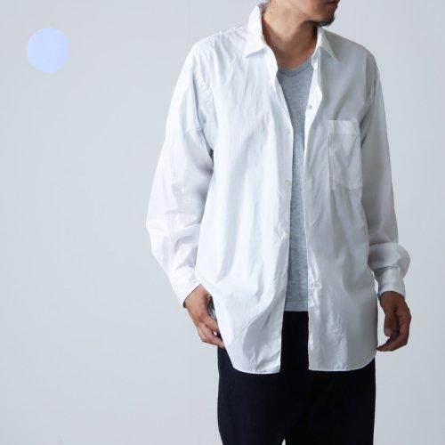 COMOLI (コモリ) ポプリンシャツ