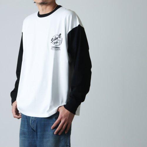 beautiful people (ビューティフルピープル) suvin pima jersey logo long-T shirts / スヴィンピマジャージーロゴティーシャツ
