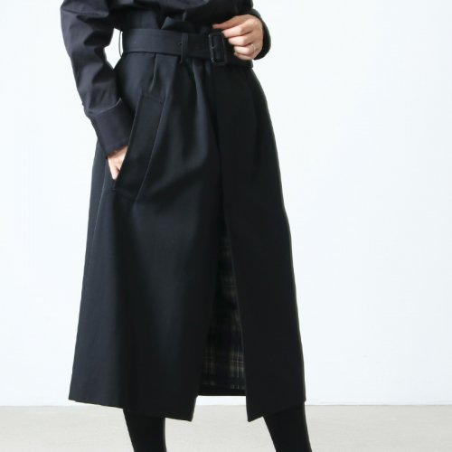 beautiful people (ビューティフルピープル) c/w gabardine culotte skirt / コットンウールギャバジンキュロットスカート