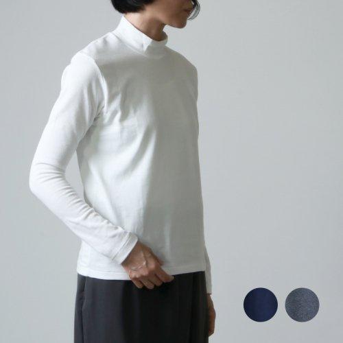 ANATOMICA (アナトミカ) MOCK NECK TEE L/S For Woman / モックネックティーロングスリーブ