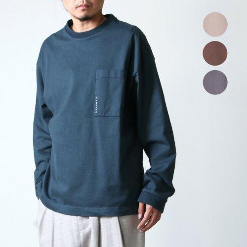 crepuscule (クレプスキュール) L/S pocket t-sh / ロングスリーブポケットTシャツ
