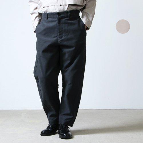kontor (コントール) CURVED PANTS / カーブドパンツ