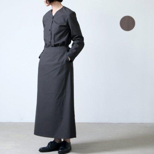 THE HINOKI (ザ ヒノキ) コットンネップパラシュートクロス セットアップドレス