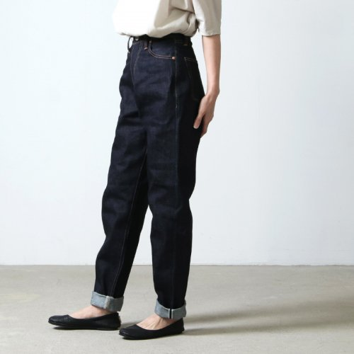 "LENO (リノ) ""LUCY"" HIGH WAIST TAPERED JEANS / ルーシーハイウエストテーパードジーンズ"