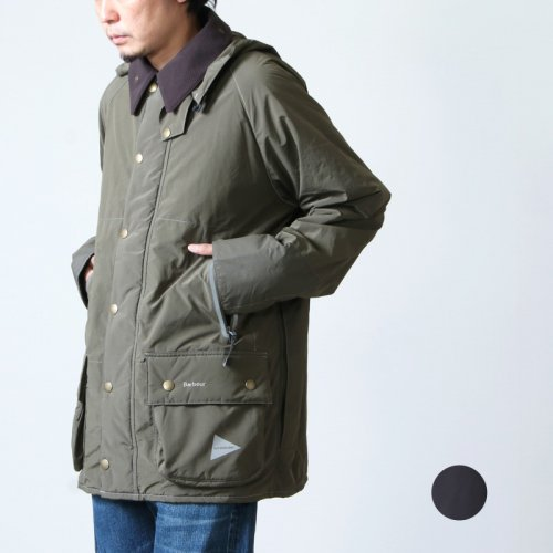 and wander (アンドワンダー) Barbour rip jacket / バブアー リップジャケット