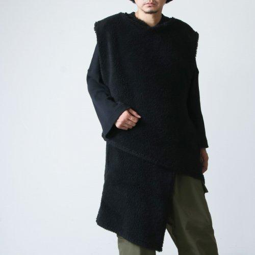 ENGINEERED GARMENTS (エンジニアードガーメンツ) Wrap Knit Vest -Polyester Shearling / ラップニットベスト