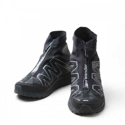and wander (アンドワンダー) reflective highcut sneakers by salomon / リフレクティブハイカットスニーカー