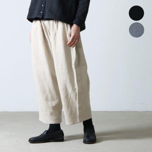 Ordinary Fits (オーディナリーフィッツ) NARROW BALL PANTS wool linen / ナローボールパンツ ウールリネン