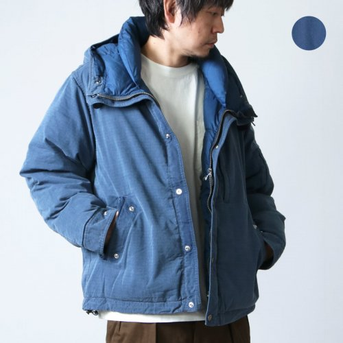 THE NORTH FACE PURPLE LABEL (ザ ノースフェイス パープルレーベル) Indigo Mountain Short Down Parka