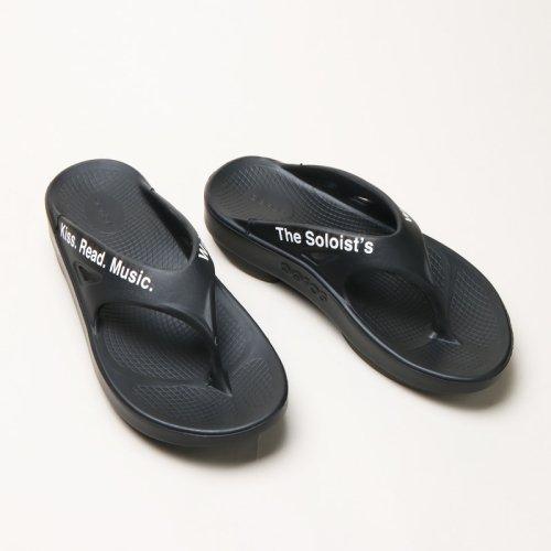 TAKAHIROMIYASHITATheSoloist. (タカヒロミヤシタザソロイスト) signature flip-flop / シグネイチャー フリップフロッピ