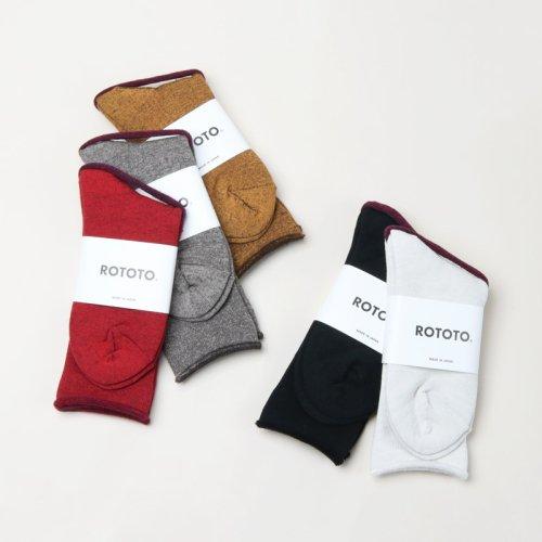 RoToTo (ロトト) CITY SOCKS / シティソックス