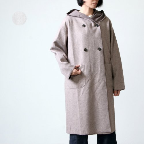 kelen (ケレン) Shawl Hood Coat Sajyu / ショールフードコート
