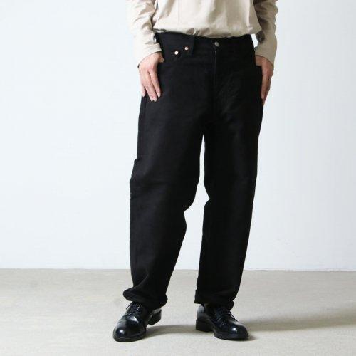 COMOLI (コモリ) モールスキン 5ポケットパンツ