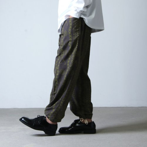 South2 West8 (サウスツーウエストエイト) Army String Pant - Flannel Pt. / アーミーストリングパンツ フランネルプリント
