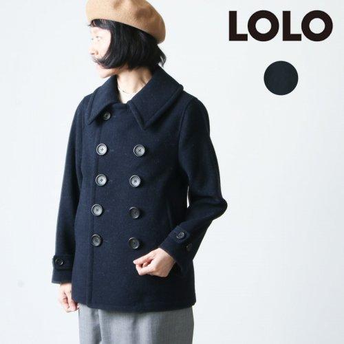 LOLO (ロロ) 英国羊毛 Pコート size:S