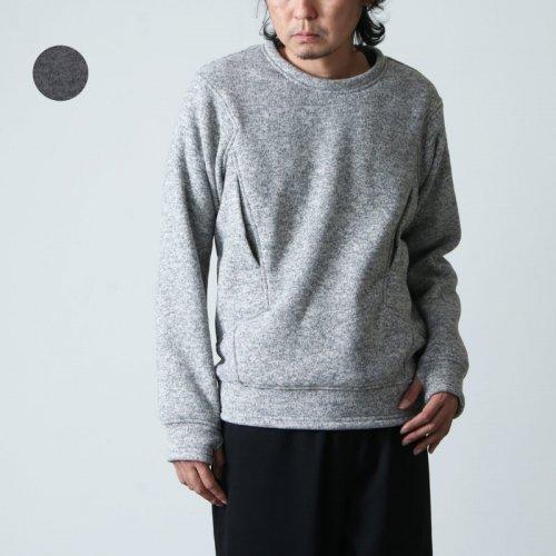 tilak (ティラック) Sage wooly Sweatshirts / セージウーリースウェットシャツ