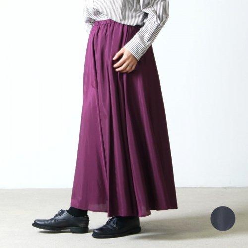 dolly-sean (ドリーシーン) グロッシーローンフレアロングスカート