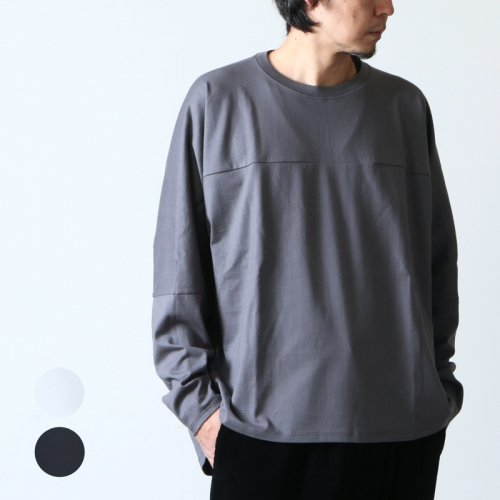 Graphpaper (グラフペーパー) PRE_for GP Oversized FTB L/S Tee