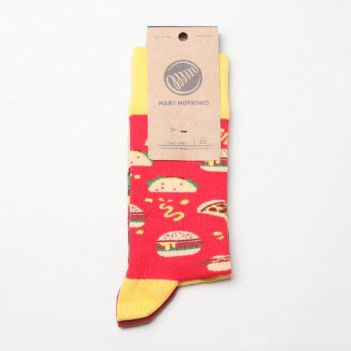 MANY MORNINGS (メニーモーニングス) Regular Socks Fast Foot / レギュラーソックス ファーストフット