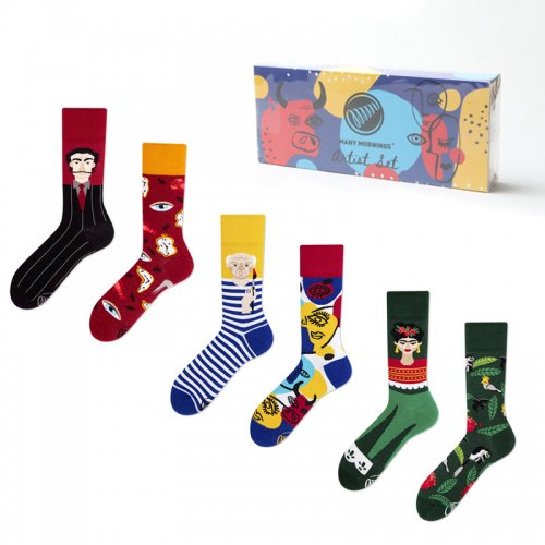 MANY MORNINGS (メニーモーニングス) Regular Socks Artist Set / レギュラーソックス アーティストセット