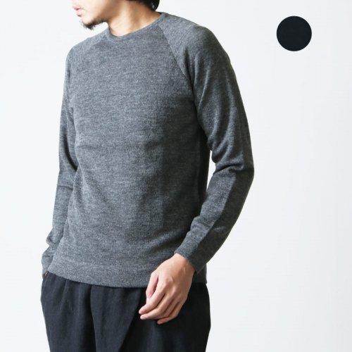 snow peak (スノーピーク) Raglan Crew Neck Knit Sweater / ラグランクルーネックニットセーター