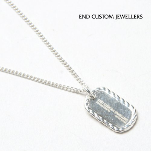 END CUSTOM JEWELLERS (エンドカスタムジュエリー) MINIATURE DOGTAG NECKLACE / ミニチュアドッグタグネックレス