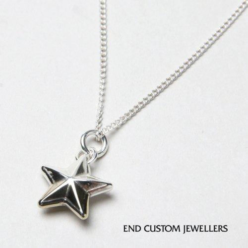 END CUSTOM JEWELLERS (エンドカスタムジュエリー) RIM STAR NECKLACE / リムスターネックレス