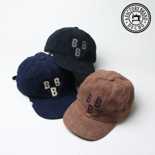 DECHO (デコー) × EBETTSFIELD NEGRO BALL CAP -BBB- / エベッツフィールド ネグロボールキャップ