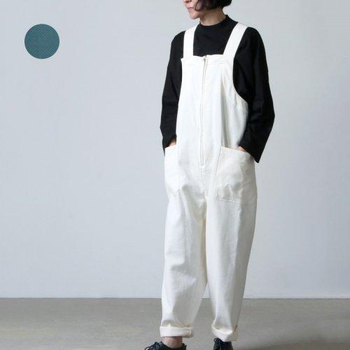 beautiful people (ビューティフルピープル) art pique salopetto pants / アートピケサロペットパンツ