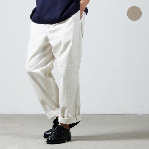 YAECA (ヤエカ) CHINO CLOTH PANTS TUCK TAPERED / チノクロスパンツ タックテーパード