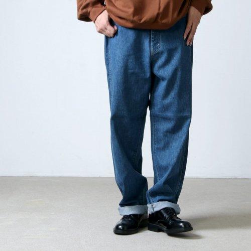 Graphpaper (グラフペーパー) Denim Five Pocket Pants FADE / デニムファイブポケットパンツ フェード