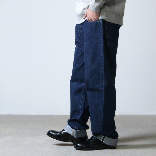 CIOTA (シオタ) 本藍スビンコットン 13.5oz ストレートデニム ダークブルー