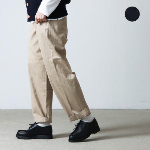 YAECA (ヤエカ) CHINO CLOTH PANTS WIDE STRAIGHT / チノクロスパンツワイドストレート