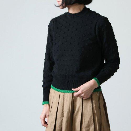beautiful people (ビューティフルピープル) popcorn knitting pullover / ポップコーンニッティングプルオーバー