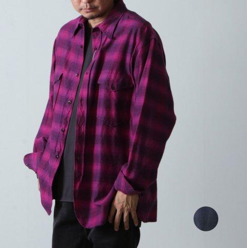 COMOLI (コモリ) ウールシルクシャツ