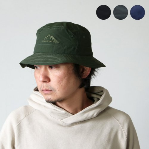 MT.RAINIER DESIGN (マウントレイニアーデザイン) MRD WINDSHED PACKABLE OUTING HAT / ウィンドーシェッド パッカブルアウティングハット