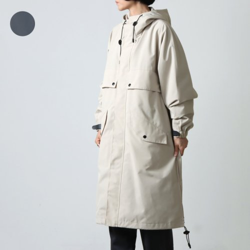 08sircus (ゼロエイトサーカス) High count weather hoodie coat / ハイカウントウェザーフーディーコート