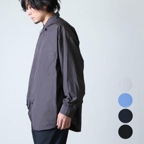 Graphpaper (グラフペーパー) Broad Oversized L/S Regular Collar Shirt / ブロードオーバーサイズドロングスリーブレギュラーカラーシャツ