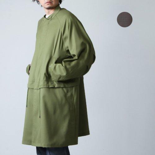 WELLDER (ウェルダー) Stand Collar Coat / スタンドカラーコート