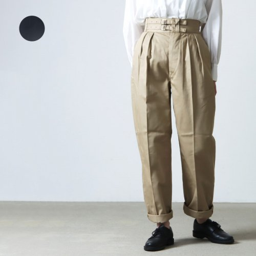 LENO (リノ) DOUBLE BELTED GURKHA TROUSERS / ダブルベルテッドグルカトラウザース