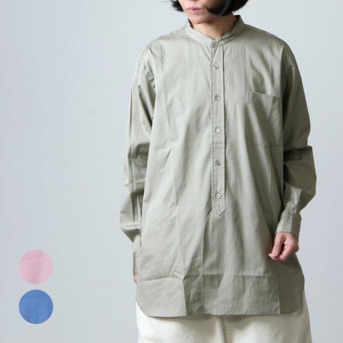 LENO (リノ) BAND COLLAR SHIRT / バンドカラーシャツ