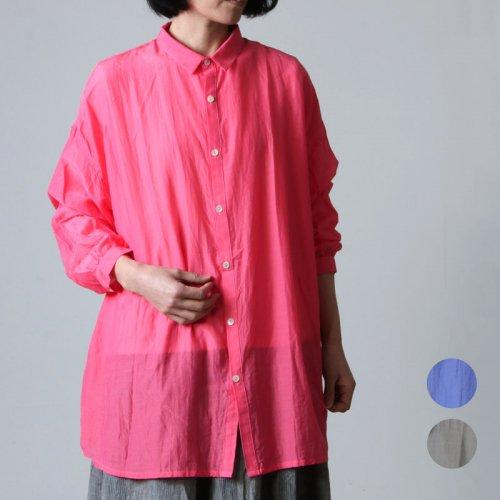 ICHI Antiquites (イチアンティークス) シルクローンazumadakiシャツ