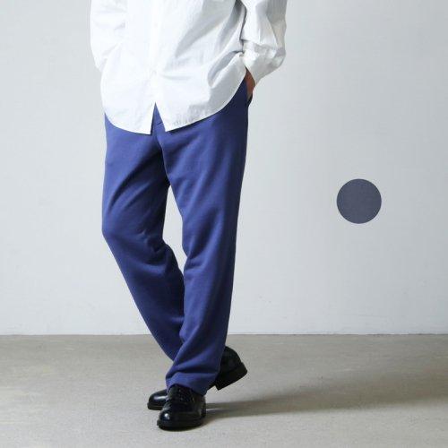 unfil (アンフィル) cotton french terry sweat pants / コットンフレンチテリースウェットパンツ