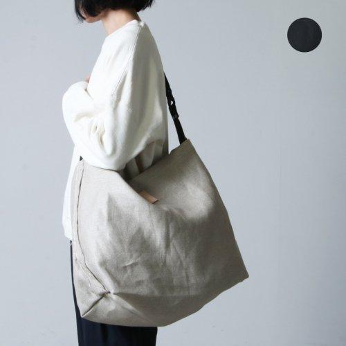 Nine Tailor (ナインテイラー) Linen Canvas Bag / リネンキャンバスバッグ