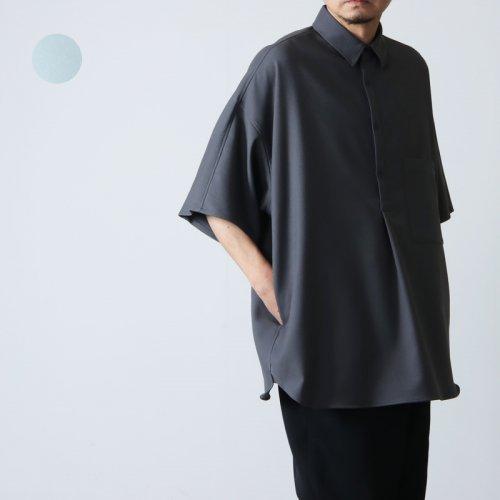 Graphpaper (グラフペーパー) Fine Wool Tropical Yoke Sleeve S/S Shirt / ファインウールトロピカルヨークスリーブショートスリーブシャツ