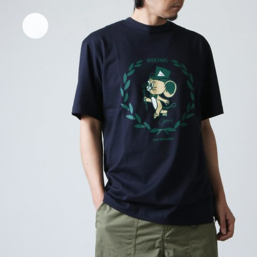 and wander (アンドワンダー) JERRY T by JERRY UKAI short  sleeve T for man