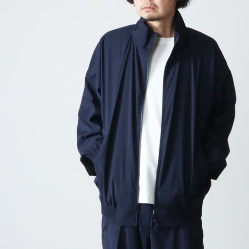 is-ness (イズネス) SWITCHING TRACK JACKET / スイッチングトラックジャケット